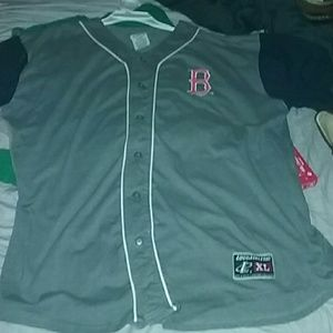 Logo Athletic Red Sox Jersey